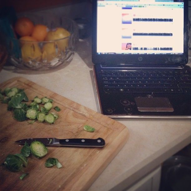 Prepping dinner while listening to part 4 of the Desire Map #desiremap