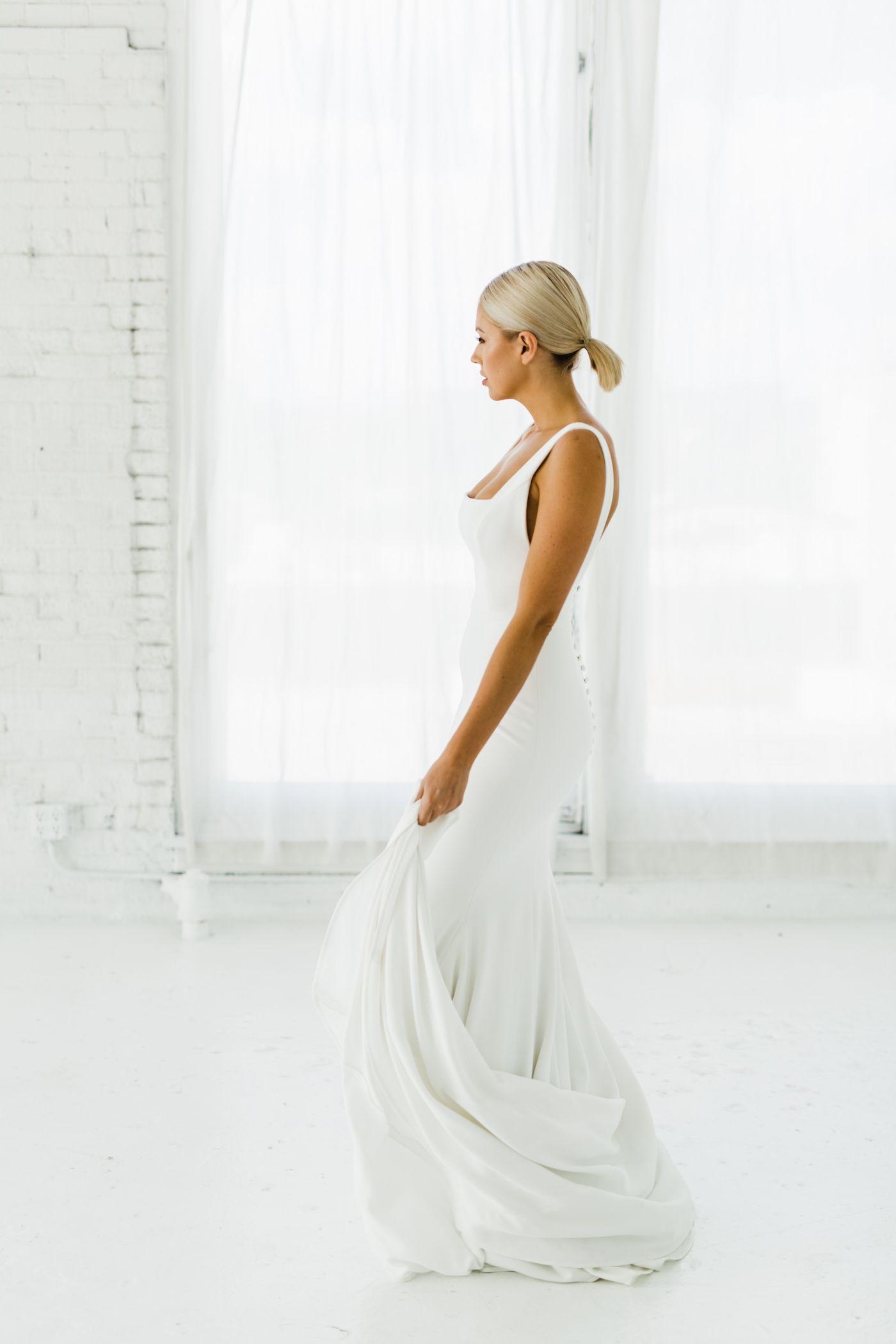 Sydney Wedding Dresses Designer Wedding Dresses One Shoulder Wedding Dress