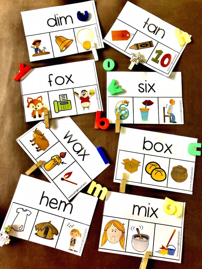 Cvc Words Activity Www Englishsafari In Cvc Words Word Activities Cvc Word Activities [ 1067 x 800 Pixel ]