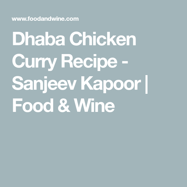 Chicken Recipes, Indian