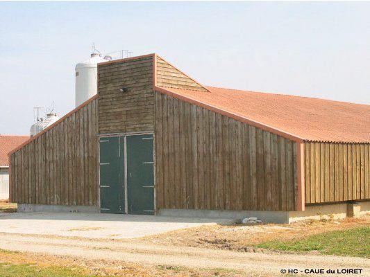 Forest debarre scp architecte couvoir du moulin br l for Architecte batiment agricole