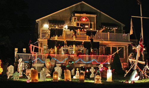 awesome halloween yard decorations 1 admit it great halloween yard displays - Halloween Lawn Decorations