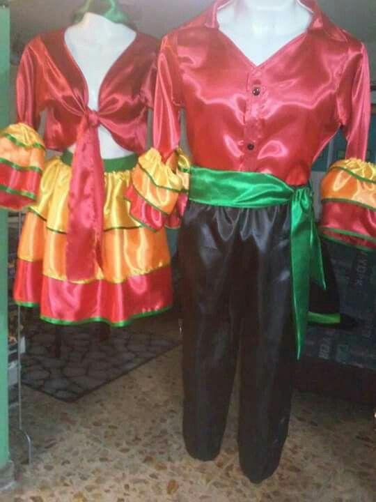 2e93de15f814e Vestuario mambo niña y niño.