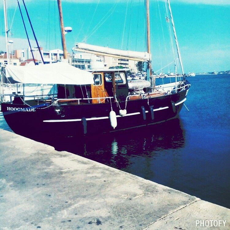 Mitilene lesvos island #port ⛵