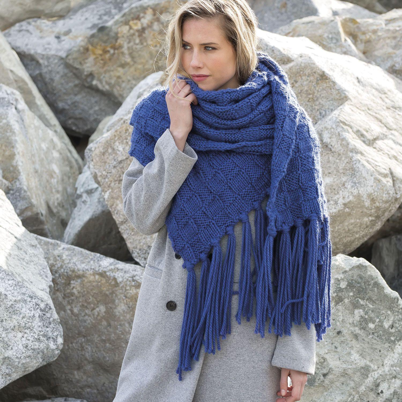 Hedendaags patroon breien haken dames sjaal herfst winter katia 6102 14 g VM-18
