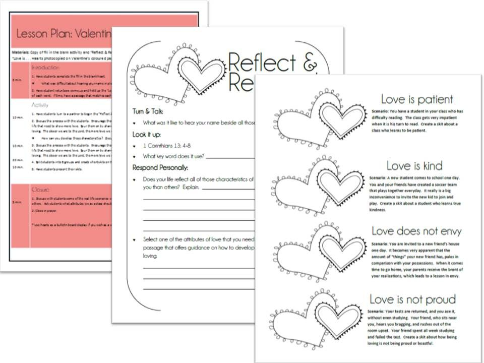 Bible Activities · A Lesson With Activities For Valentineu0027s Day. Deals With  A Biblical Look At Love Based