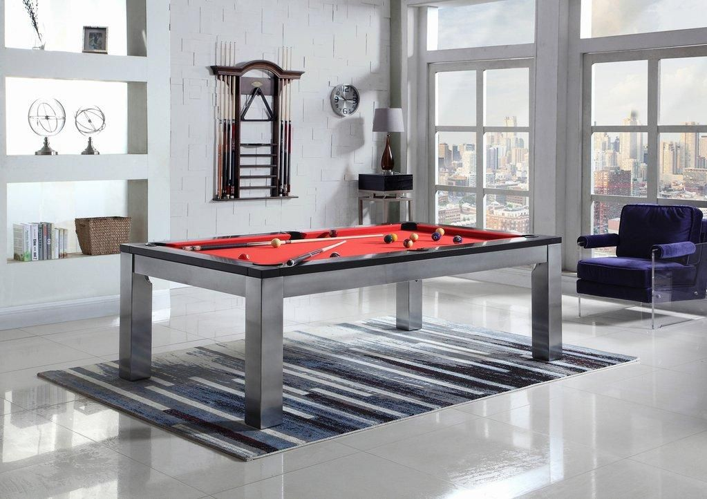 Playcraft Monaco Slate Pool Table with Dining Top Pool