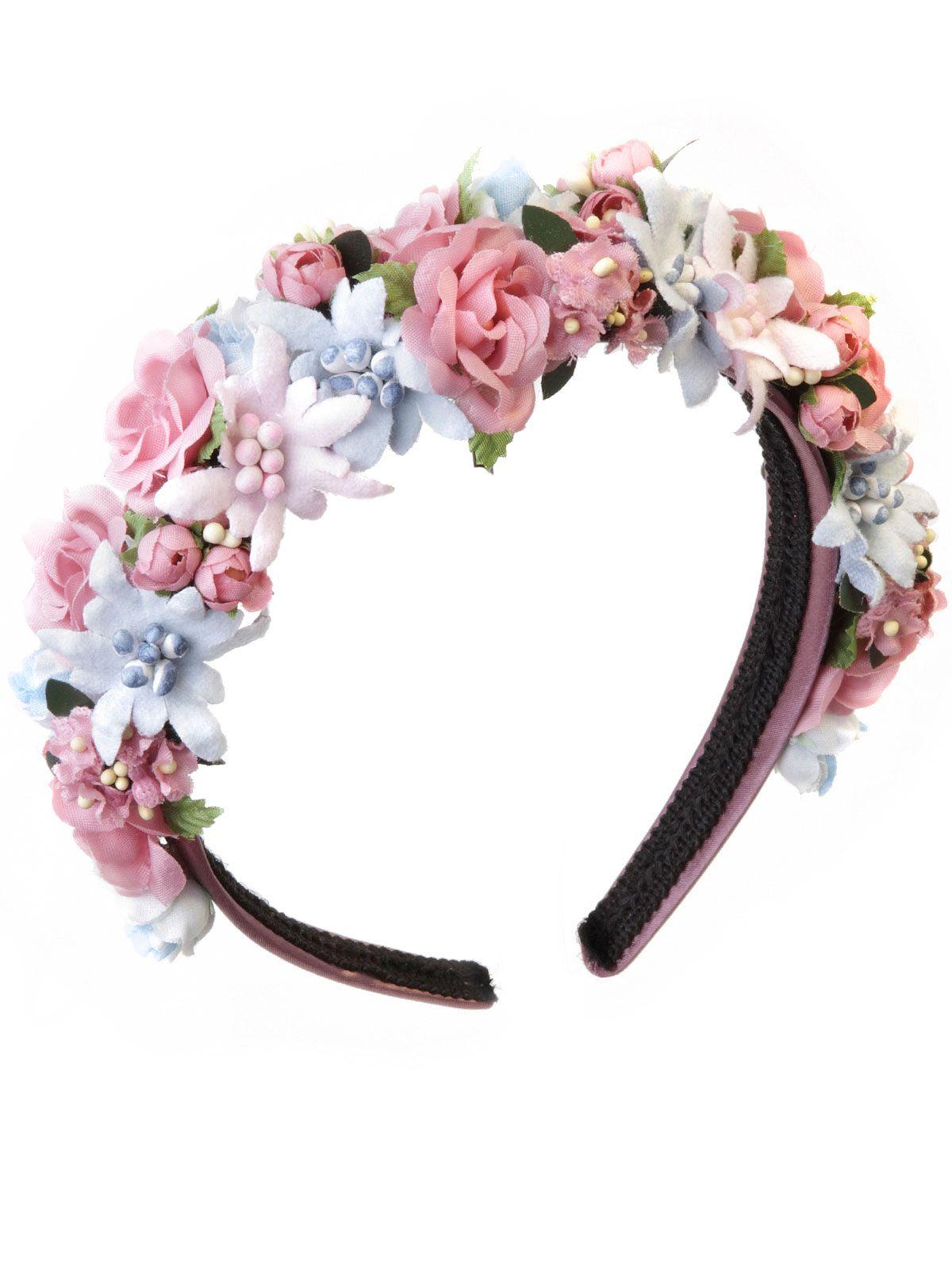 Blumenhaarband, Blumenkranz, Hair, Frisur,  Haarreifen - Flower Crown von LIMBERRY für süße Sommernachtsträume.