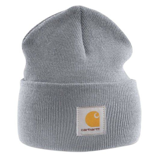 Carhartt - Acrylic Watch Cap - Grey branded beanie ski hat  Amazon.co.uk   Clothing b7fb258b22ad