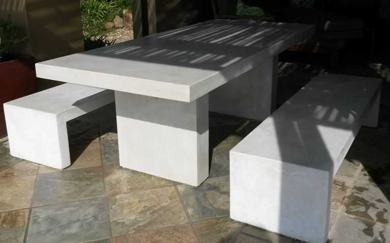 Merveilleux Stonescast Tables U0026 Benches   StoneCast