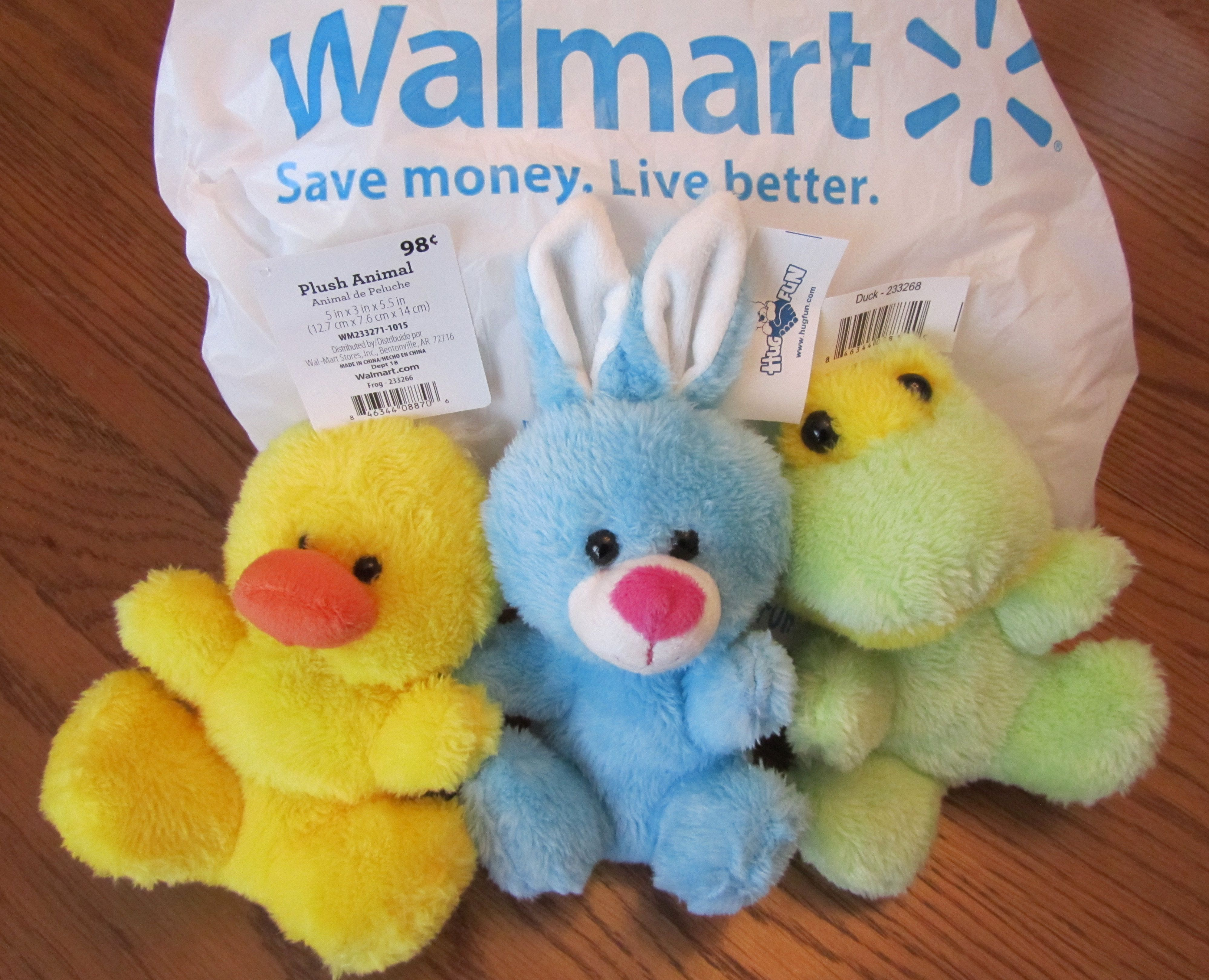 Only 98 cents at walmart in the easter basket aisle be sure to 98 cents at walmart easter basket cut off all tags occ negle Image collections