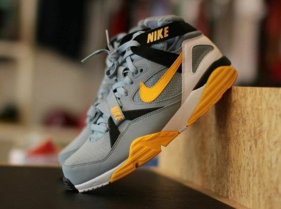 Nike Air Max 91 Black Gray Yellow Mens Running Trainers Shoes