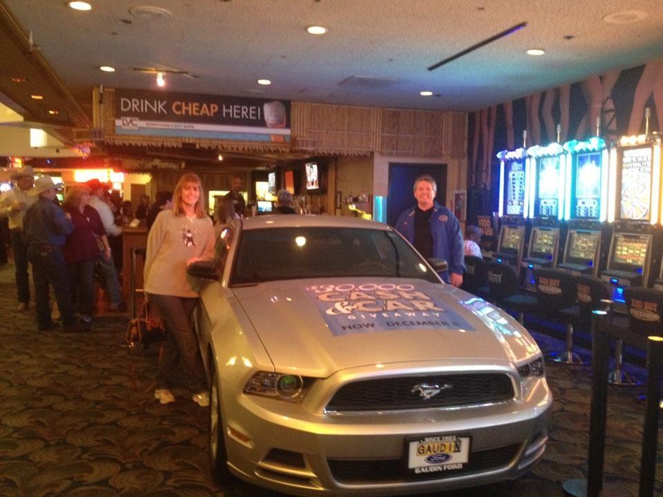 Congratulations to Mark & Jodi of Las Vegas winners of