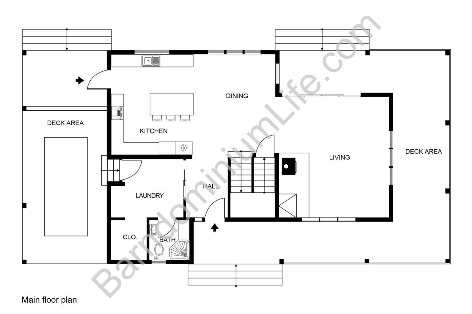 5 Great Two Story Barndominium Floor Plans in 2020 Floor