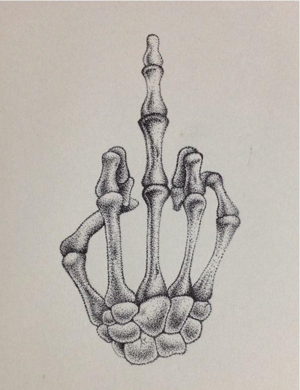 Skeleton Tattoo Tumblr Art Sketches Skeleton Drawings Sketches