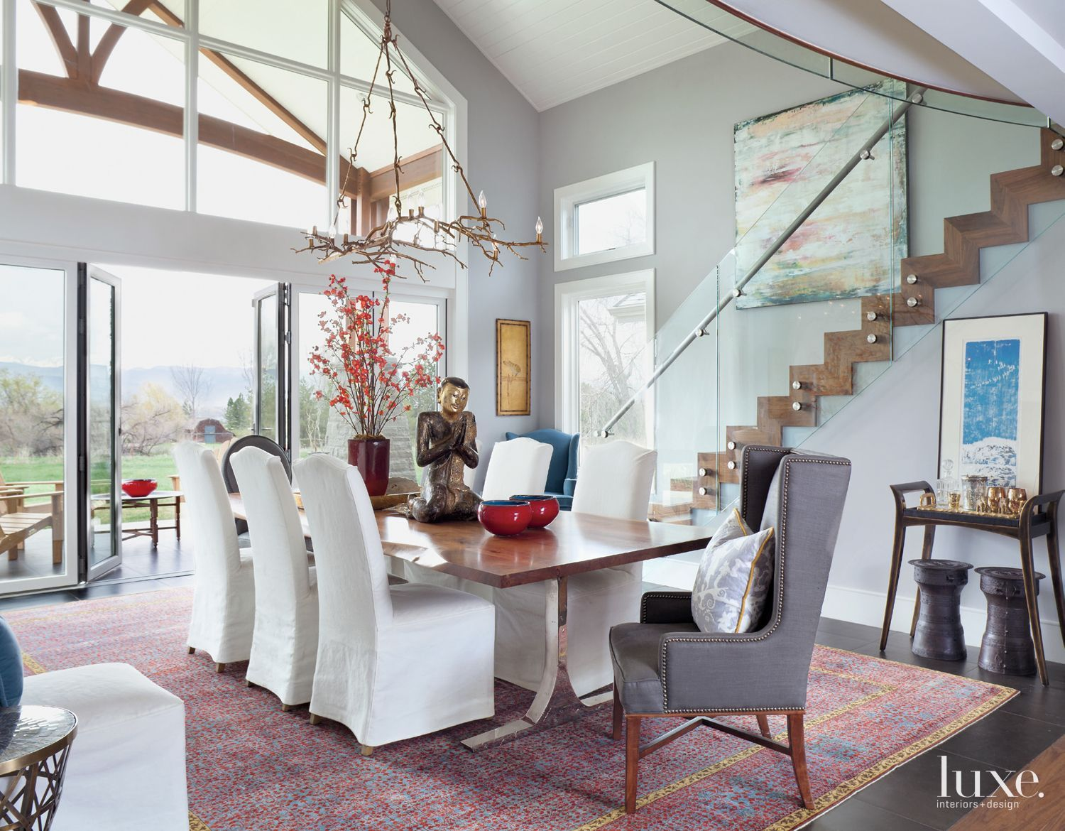 Eclectic East Boulder Home with Sprawling Mountain Views | LuxeWorthy - Design Insight from the Editors of Luxe Interiors + Design