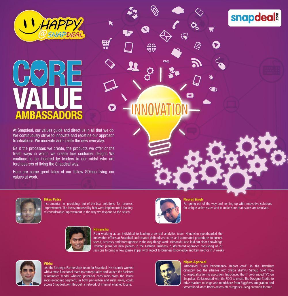 Daily Performance Report Format Innovation Ambassadors  Snapdeal Core Value Ambassadors  Pinterest