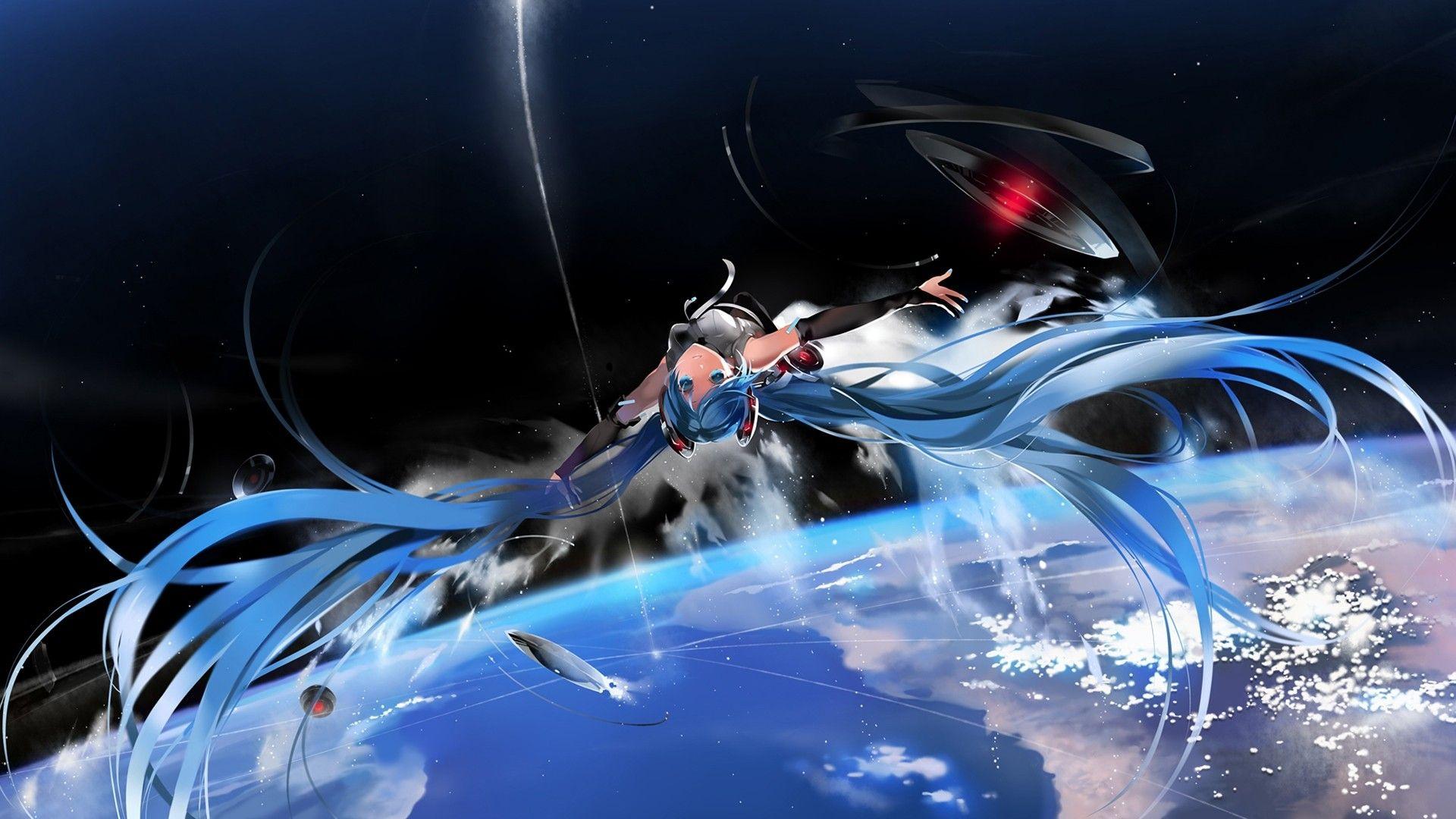 Anime 1920x1080 Hatsune Miku Vocaloid | One piece | Vocaloid