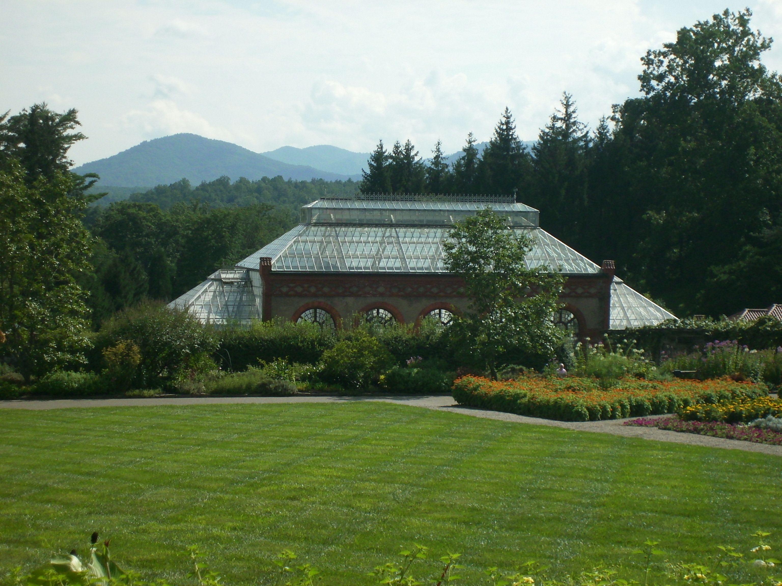 Conservatory at the Biltmore Estate, Asheville, NC