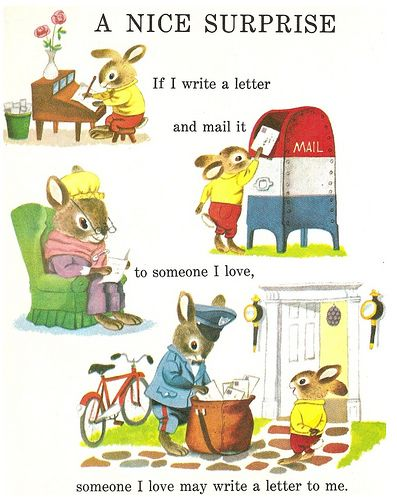 Snail Mail  Books    Richard Scarry Writing Letters