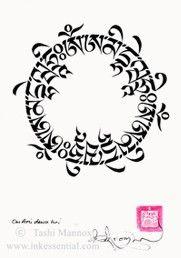 amitabha mantra mantras tashi mannox art print store t bet buismo dzogchen pinterest. Black Bedroom Furniture Sets. Home Design Ideas