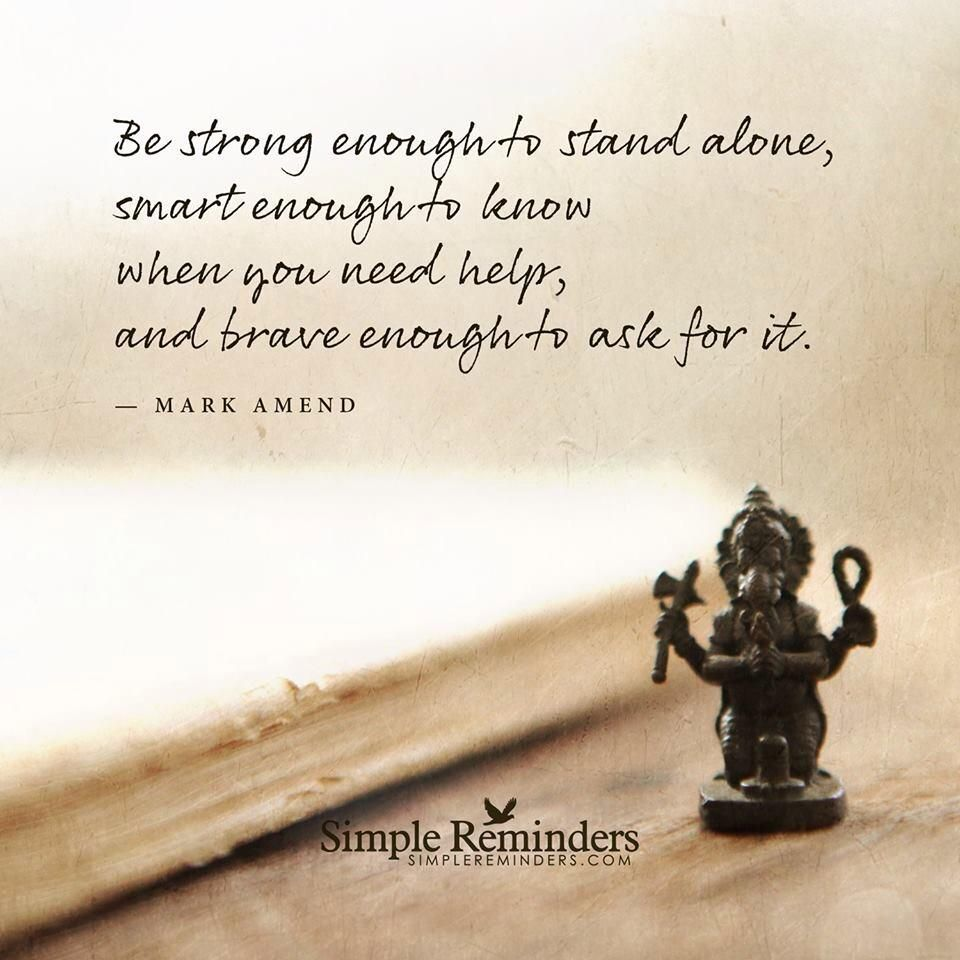 Be strong enough... #quotes