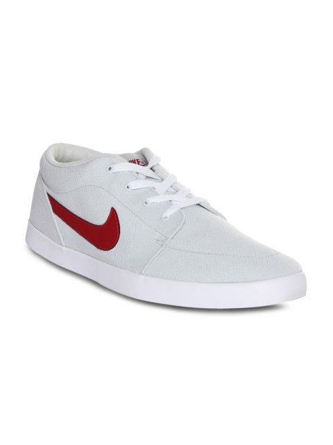 f2c5a56c29fd Buy Nike Men Grey Voleio CNVS Solid Regular Sneakers - Casual Shoes for Men