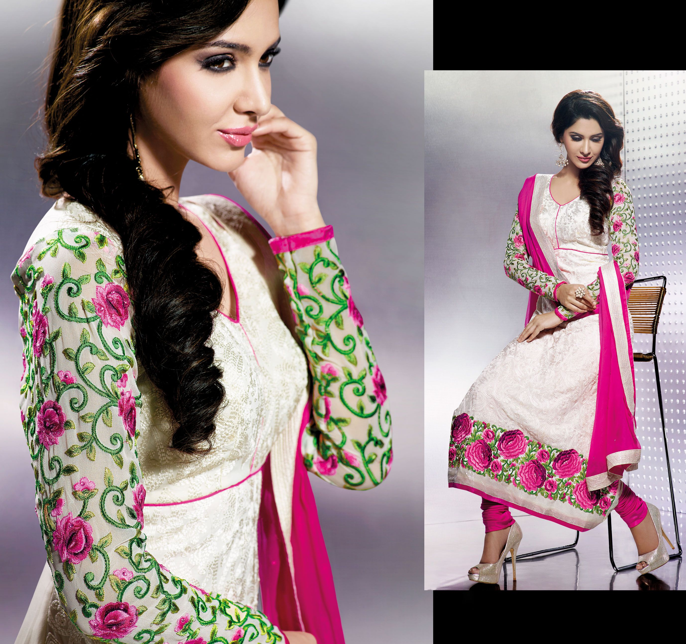 Desgienr Salwar Suit @ Affordable Price. Please feel free to ask for ...