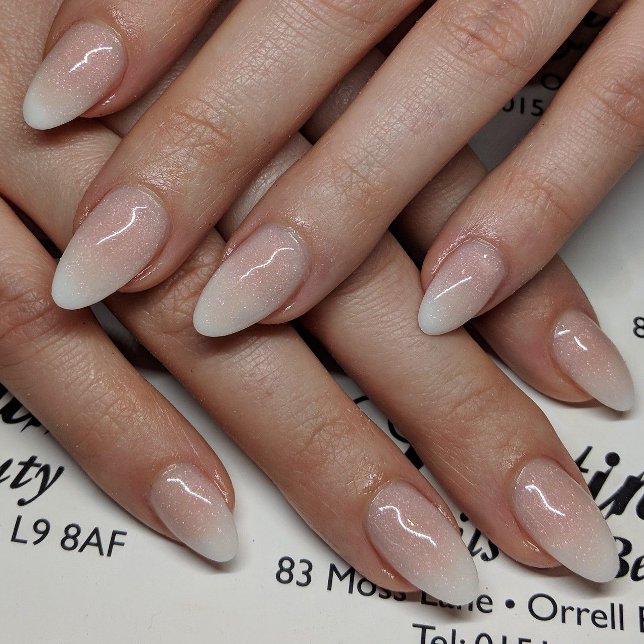 French ombre acrylic nails | Nail Care & Designs | Pinterest | Ombre