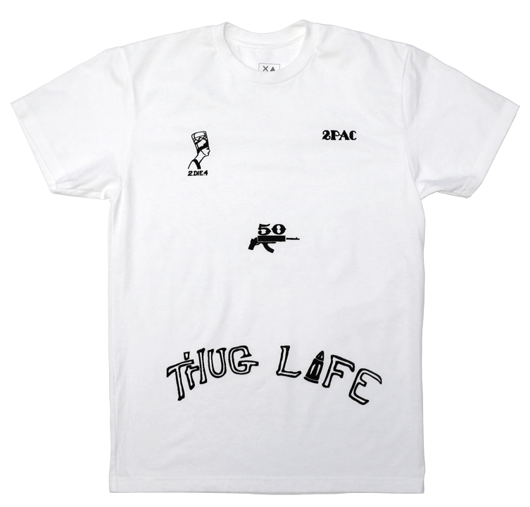 Thug Life Tee Smplfd Detroit Dry Goods Design Thug Life T Shirts Tattoo T Shirts Shirts