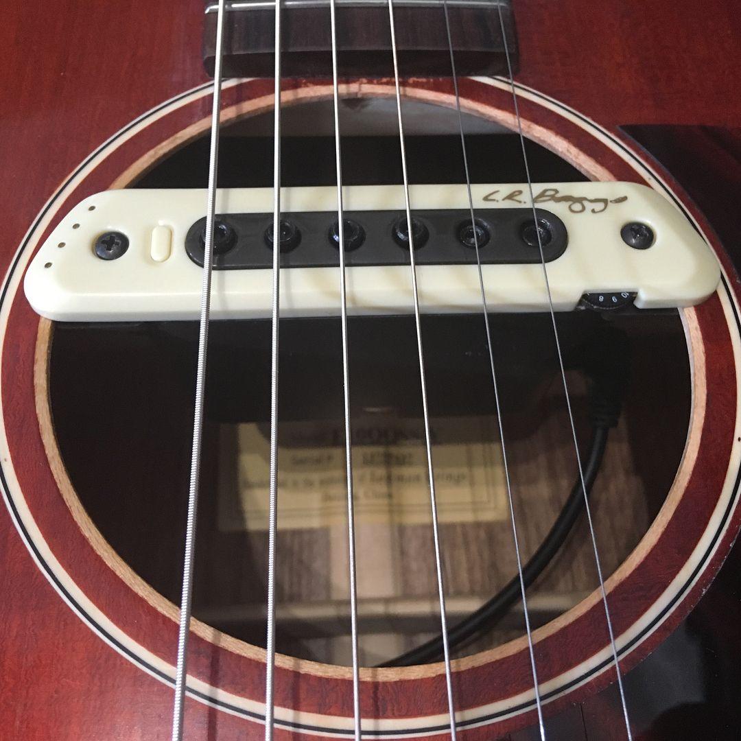 Lr Baggs Pickup Install On This Absolutely Gorgeous Eastman Acoustic Guitarrepairs Eastman Acoustic Eastmanguitars Lrb Acoustic Slide Guitar Open G Tuning