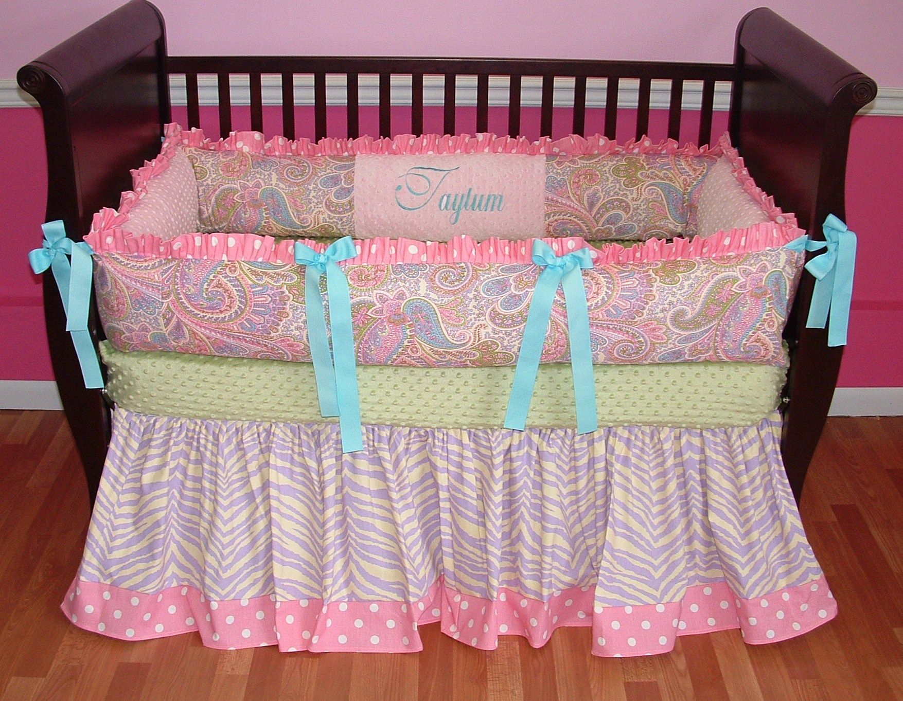 Baby girl paisley bedding - 17 Best Images About Nursery Ideas On Pinterest Baby Crib Bedding Crib Sets And Bebe