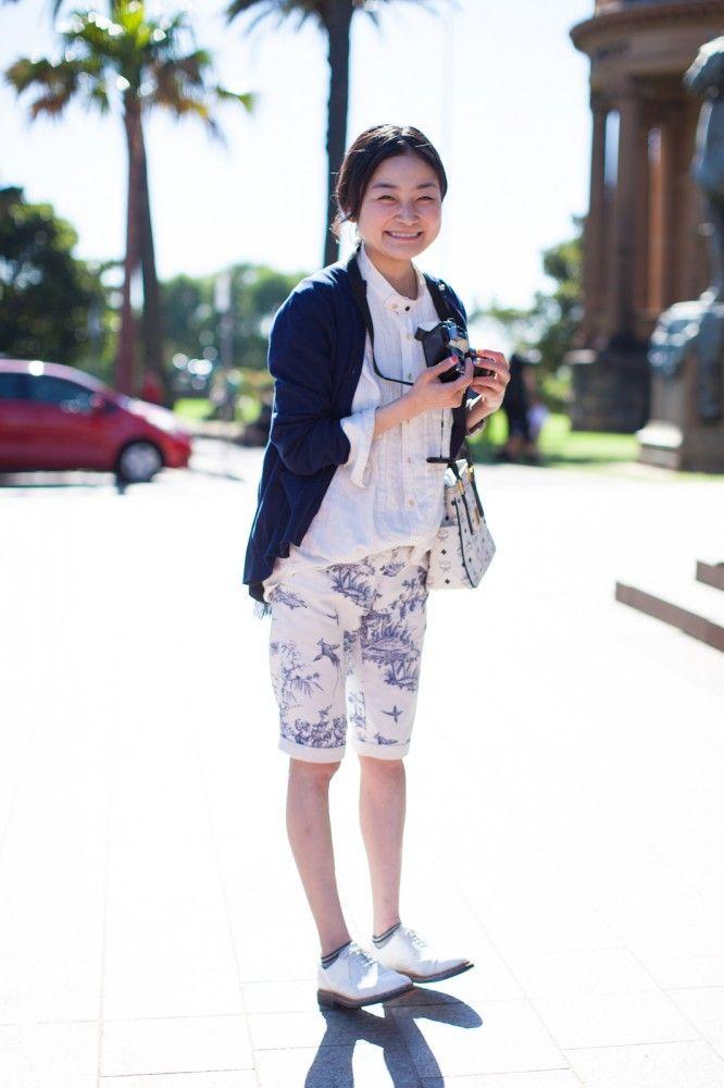 Refinery29: Street Style- Mercedes-Benz Fashion Week Australia 2013 - Rei Shito