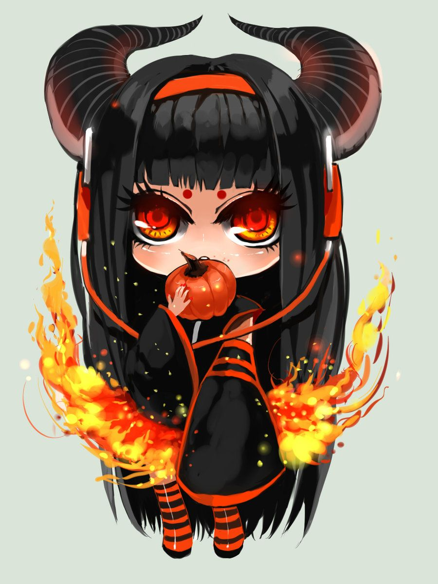 Anime Halloween Chibi (avec images)