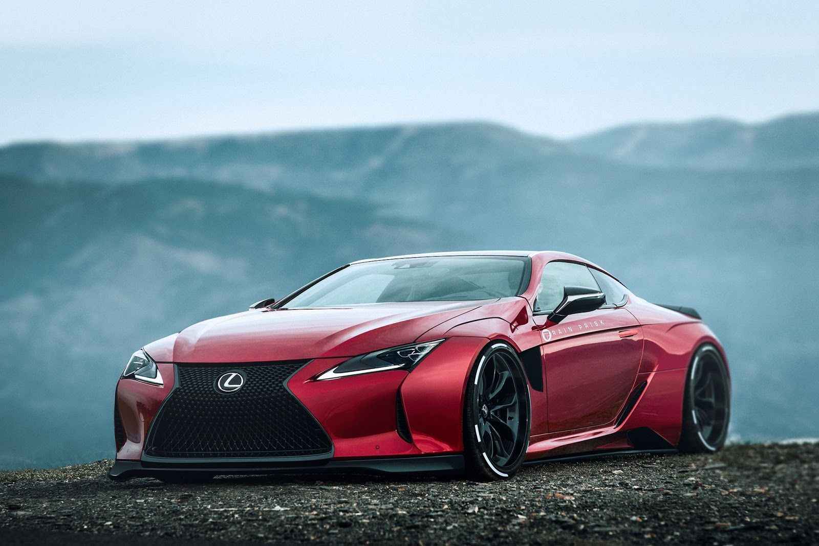 Lexus LC500 Gets A Supercar Styling from Rain Prisk