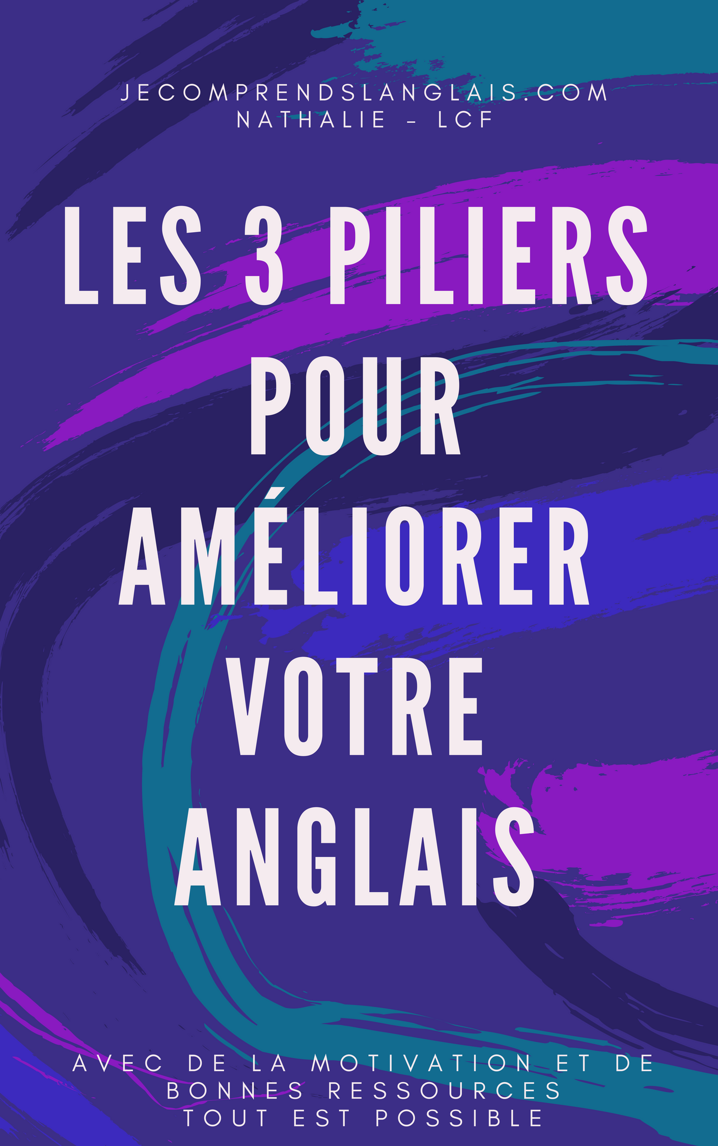 Guide Les 3 Piliers Pour Ameliorer Votre Anglais Anglais Verbe Etre Motivation