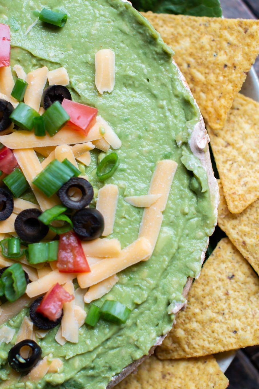 Layered Taco Dip #tacodip