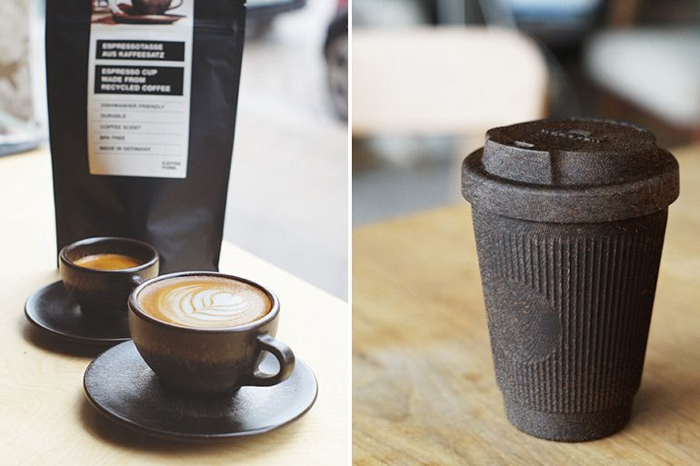 Kaffeeform makes coffee cups from coffee