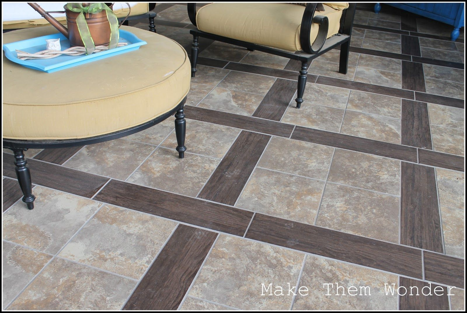 patio design with stamped concrete tile that looks like wood outdoor patiosoutdoor decoroutdoor - Concrete Tile Garden Decor