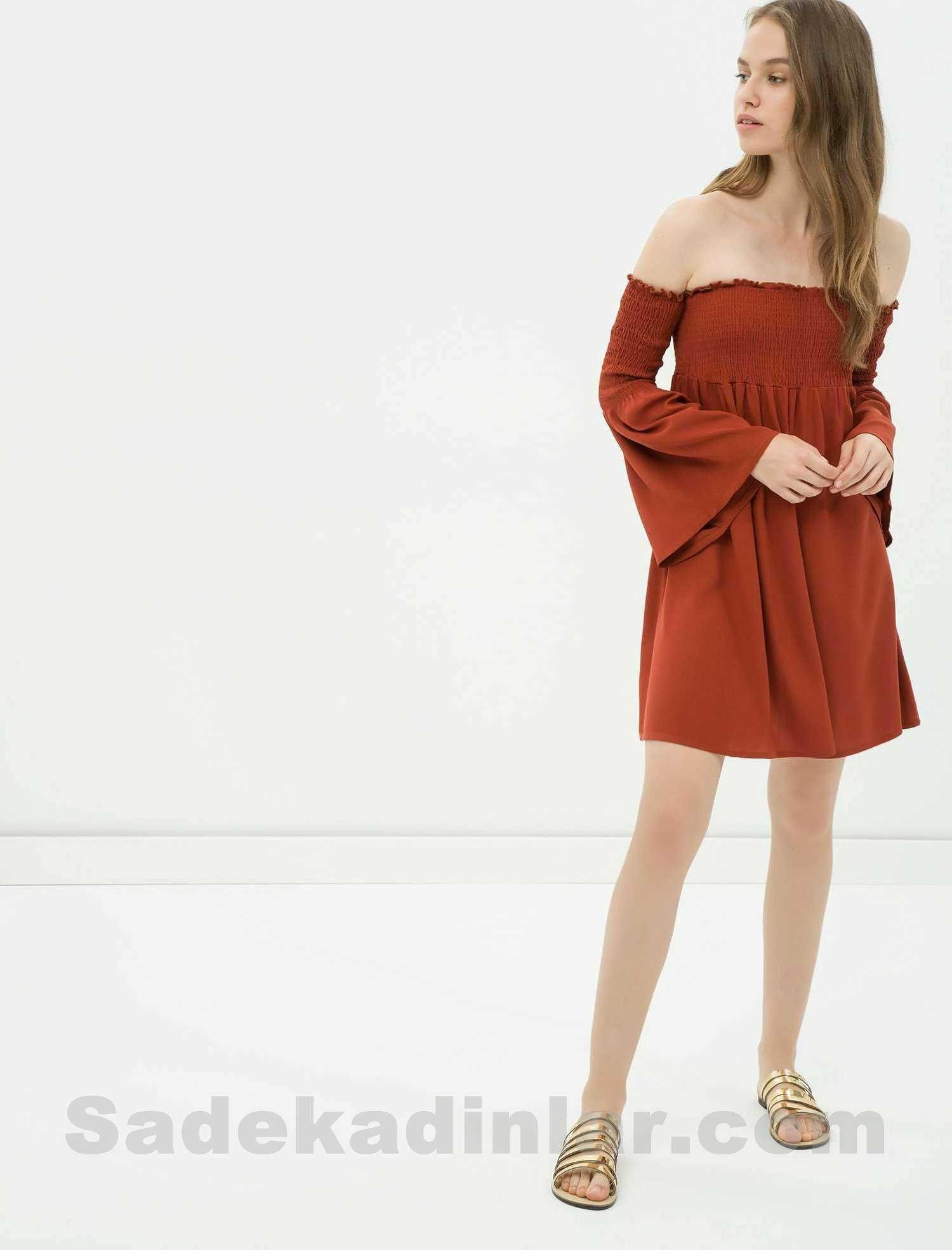 f469c42dfdd9d Koton Elbise – Straplez Kısa Elbise Düz Elbise Modelleri | Elbise ...