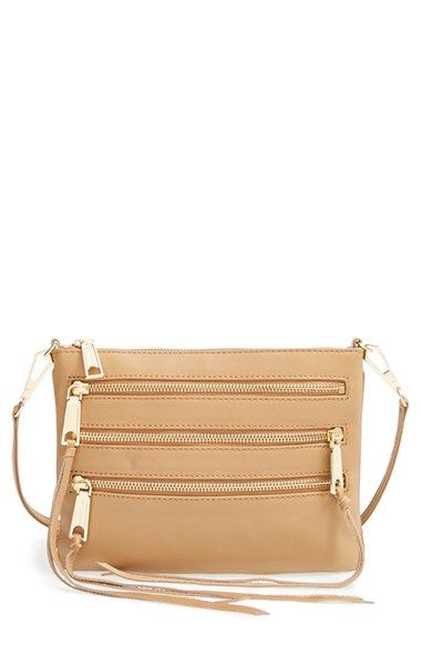 2ef478a051 Rebecca Minkoff  3-Zip Rocker  Crossbody Bag available at  Nordstrom ...