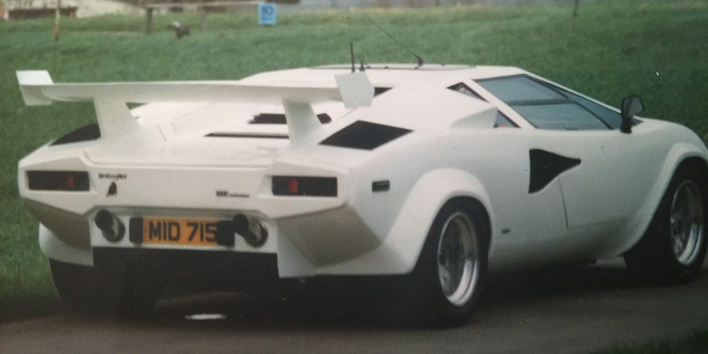 The World S Only Amphibious Lamborghini Countach Is For Sale On