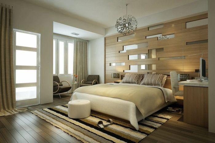Großartige Schlafzimmereinrichtung vereinigt Komfort und