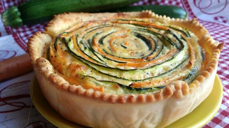 Torta brise con zucchine e carote - Powered by @ultimaterecipe
