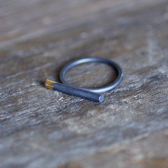 Keum-Boo Bar Ring
