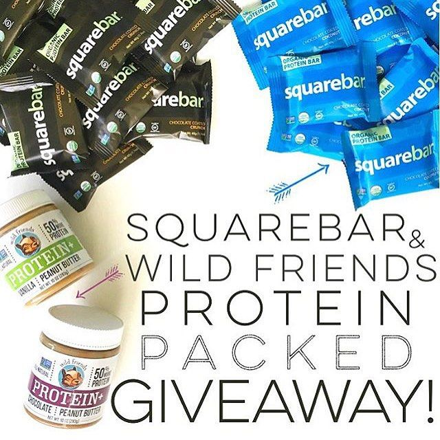 Do you love #Wildfriends and @squarebars?! Then this #protein packed giveaway from our friends at @vitaminshoppe is made for you  . Head on over to @vitaminshoppe's page and look for this photo. Contest details are in the caption! . Good luck!!  by wild_friends