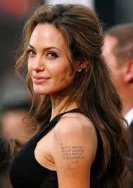 Angelina Jolie Hairy