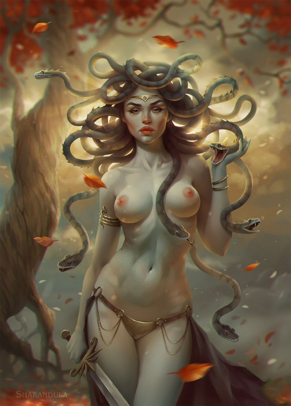 Nude fantasy artwork beautiful