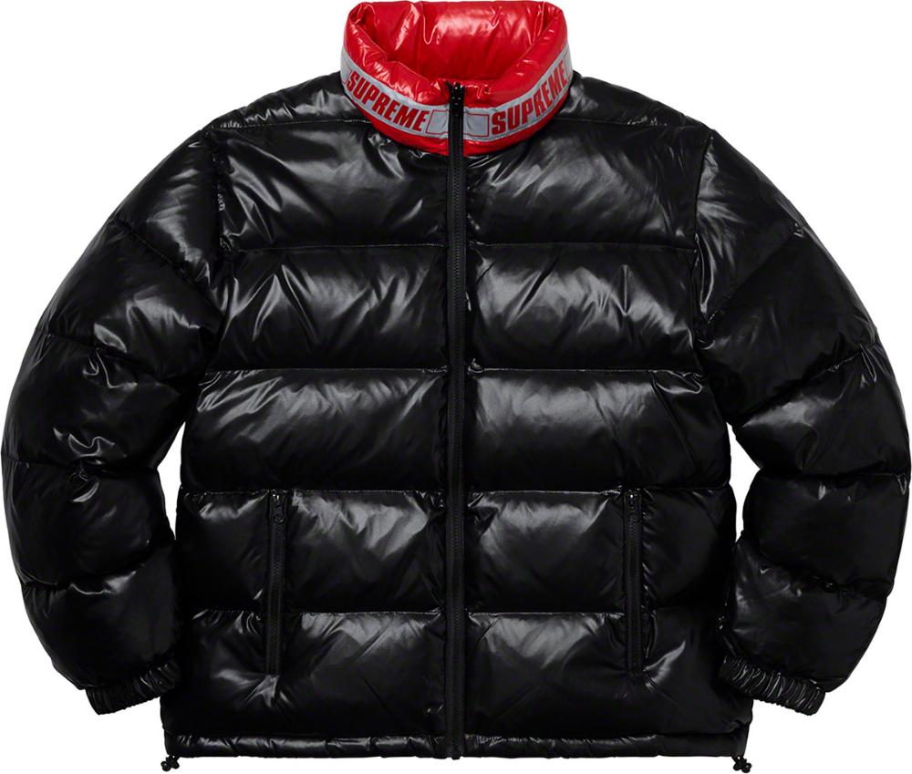 Supreme Shiny Reversible Puffy Jacket Puffy Jacket Jackets Winter Jackets [ 849 x 1000 Pixel ]