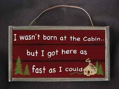 Cabin Fever Gifts Decor This Would Be